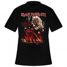 T-Shirt Mec IRON MAIDEN - NOTB Graphic