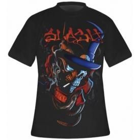 T-Shirt Mec SLASH - Smoker