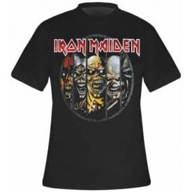 T-Shirt Mec IRON MAIDEN - Eddie Evolution