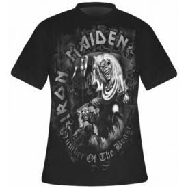T-Shirt Mec IRON MAIDEN - NOTB Grey