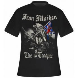 T-Shirt Mec IRON MAIDEN - Sketched Trooper