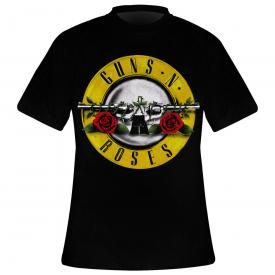 T-Shirt Mec GUNS N ROSES - Double Pistols