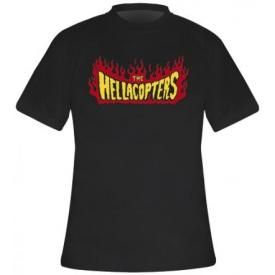 T-Shirt Mec THE HELLACOPTERS - Flames