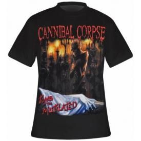 T-Shirt Mec CANNIBAL CORPSE - Tomb Of The Mutilated
