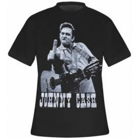 T-Shirt Mec JOHNNY CASH - Finger