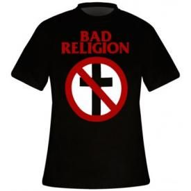 T-Shirt Mec BAD RELIGION - Cross Buster Logo