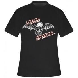 T-Shirt Mec AVENGED SEVENFOLD - Death Bat