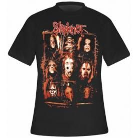 T-Shirt Mec SLIPKNOT - Rusty Face