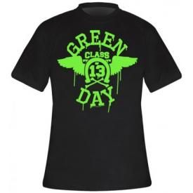 T-Shirt Mec GREEN DAY - Neon