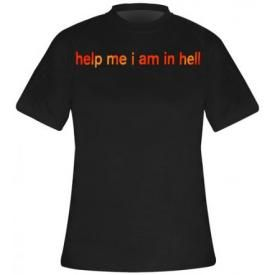 T-Shirt Mec NINE INCH NAILS - Help Me