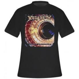 T-Shirt Mec MEGADETH - Super Collider