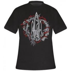 T-Shirt Mec AT THE GATES - Arms And Thorns