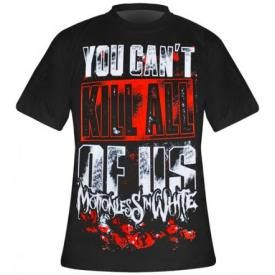 T-Shirt Mec MOTIONLESS IN WHITE - You Can't Kill