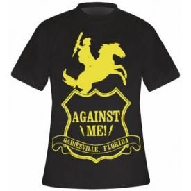 T-Shirt Mec AGAINST ME ! - Shield