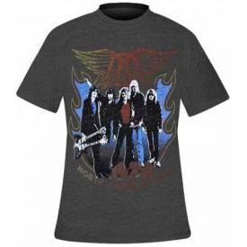 T-Shirt Mec AEROSMITH - American Tour