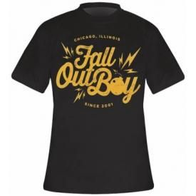 T-Shirt Mec FALL OUT BOY - Bomb