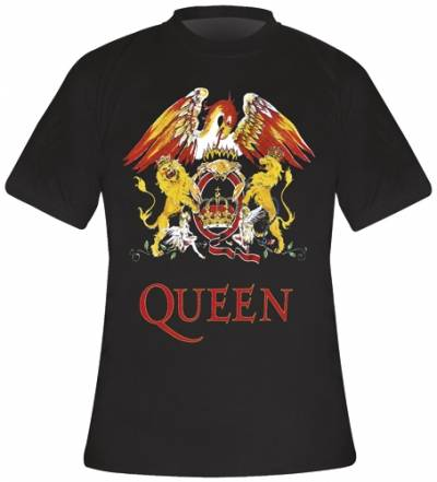 t shirt homme queen