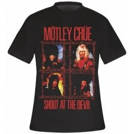 T-Shirt Mec MOTLEY CRUE - Shout At The Devil