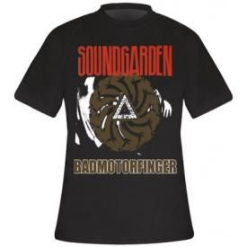 T-Shirt Mec SOUNDGARDEN - Badmotorfinger