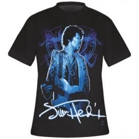 T-Shirt Mec JIMI HENDRIX - Blue Wild Angel