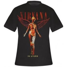T-Shirt Mec NIRVANA - In Utero