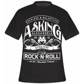 T-Shirt Mec ASKING ALEXANDRIA - Rock N Roll