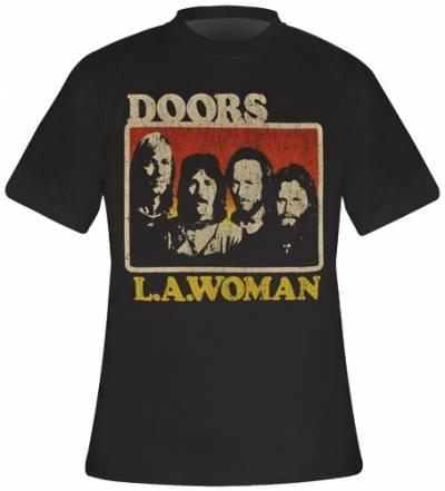 t shirt mec the doors l a woman t shirts rock a gogo. Black Bedroom Furniture Sets. Home Design Ideas