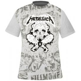 T-Shirt Mec All Over METALLICA - Fillmore Pushead