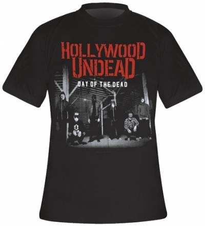 t shirt homme hollywood undead day of the dead rock a gogo. Black Bedroom Furniture Sets. Home Design Ideas
