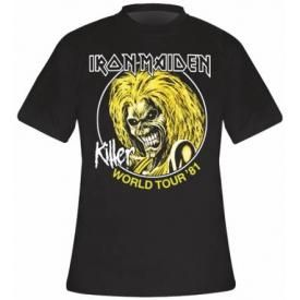 T-Shirt Mec IRON MAIDEN - Killer World Tour 81