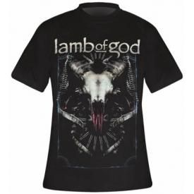T-Shirt Mec LAMB OF GOD - Tech