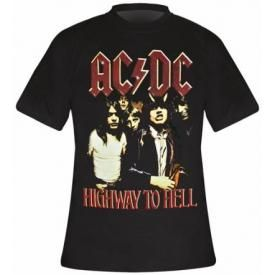 T-Shirt Mec AC/DC - Highway To Hell