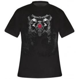 T-Shirt Mec DREAM THEATER - Double Skull