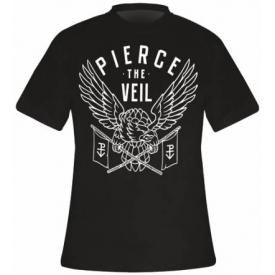 T-Shirt Mec PIERCE THE VEIL - White Eagle