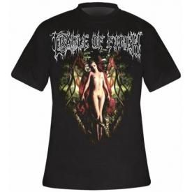 T-Shirt Mec CRADLE OF FILTH - Deflowering