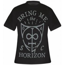 T-Shirt Mec BRING ME THE HORIZON - Hand Drawn Shield