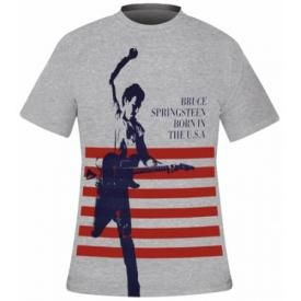 T-Shirt Mec BRUCE SPRINGSTEEN - Born In The USA Heather