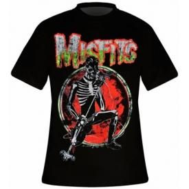 T-Shirt Mec MISFITS - Skeleton
