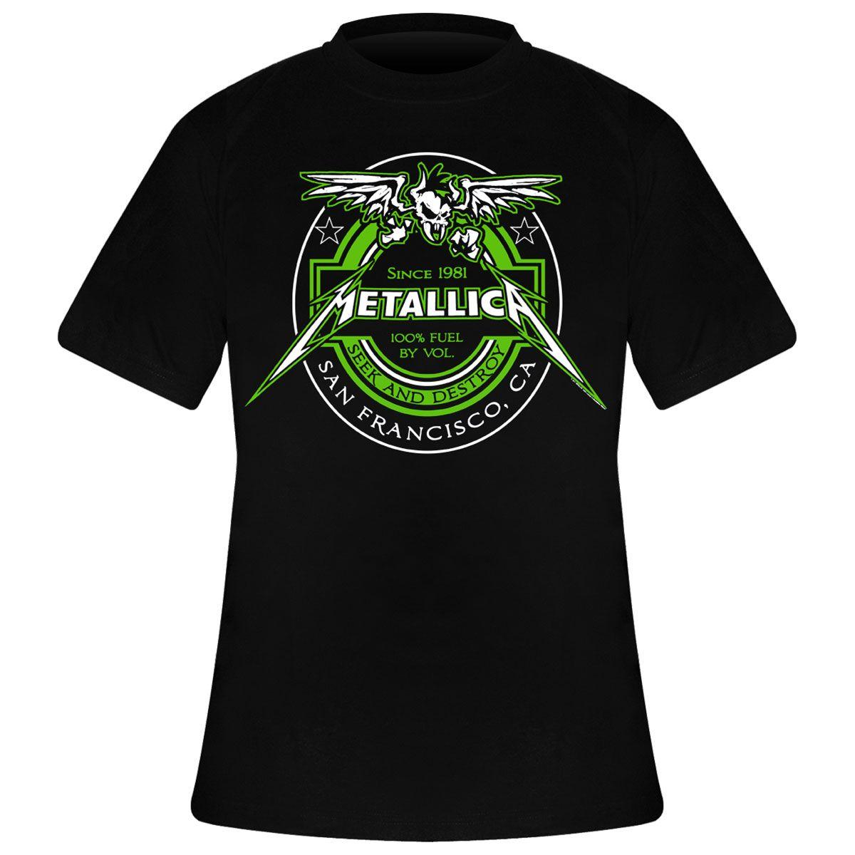 d62926b2 La Boutique de T-Shirts du Groupe Metallica - Rock A Gogo