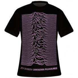 T-Shirt Mec JOY DIVISION - Unknown Pleasure Oversized