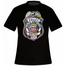 T-Shirt Mec THE POLICE - Shield