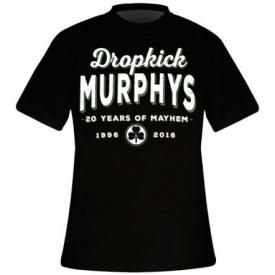 T-Shirt Mec DROPKICK MURPHYS - 20 Years