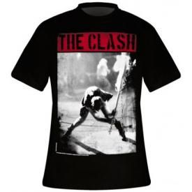 T-Shirt Mec THE CLASH - London Calling Banner