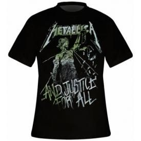 T-Shirt Mec METALLICA - Justice For All Vintage