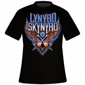 T-Shirt Mec LYNYRD SKYNYRD - Crossed Guitars