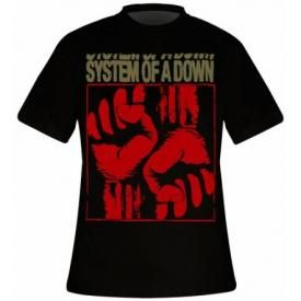 T-Shirt Mec SYSTEM OF A DOWN - Fistacuff