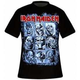 T-Shirt Mec IRON MAIDEN - 9 Eddies
