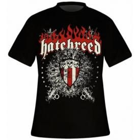 T-Shirt Mec HATEBREED - Skull & Maces