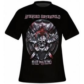 T-Shirt Mec AVENGED SEVENFOLD - Battle Armour