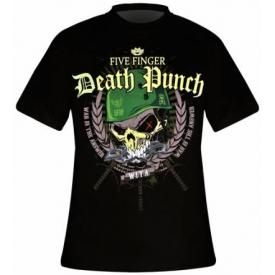 T-Shirt Mec FIVE FINGER DEATH PUNCH - Warhead